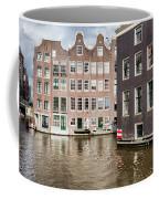City Of Amsterdam Canal Houses Coffee Mug