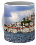 City Of Istanbul Cityscape Coffee Mug by Artur Bogacki