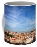 City Of Lisbon At Sunset Coffee Mug