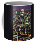 City Of London Skyline At Night Coffee Mug