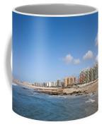 City Of Matosinhos Skyline In Portugal Coffee Mug