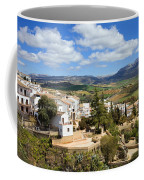 City Of Ronda In Spain Coffee Mug