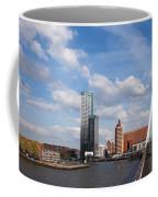 City Of Rotterdam From Erasmus Bridge Coffee Mug