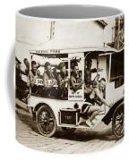 City Of Santa Monica Life Saveing Service Ocean Park Circa 1917 Coffee Mug