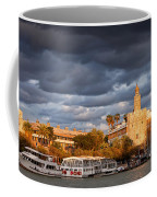 City Of Seville At Sunset Coffee Mug