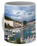 City Of Split Port In Croatia Coffee Mug