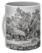 City Park Giants - Paint Bw Coffee Mug