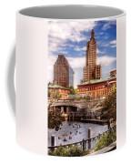 City - Providence Ri - The Skyline Coffee Mug by Mike Savad