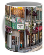 City - Roanoke Va - Down One Fine Street  Coffee Mug by Mike Savad