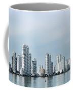 City Skyline, Castillogrande Coffee Mug