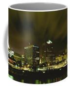 City Skyline With Milwaukee Art Museum Coffee Mug