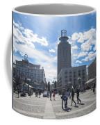 City Square In Stockholm Coffee Mug