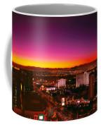 City - Vegas - Ny - Sunrise Over The City Coffee Mug