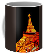 City - Vegas - Paris - Eiffel Tower Restaurant Coffee Mug