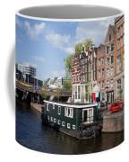Cityscape Of Amsterdam Coffee Mug