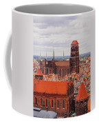 Cityscape Of Gdansk Coffee Mug