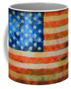 Civil War Flag Coffee Mug by Dan Sproul