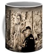 Civil War Officer And Wife Coffee Mug