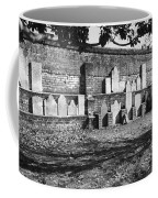 Civil War Wall Of Tombstones Savannah Georgia Coffee Mug