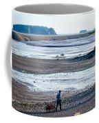 Clam Digger With Wagon Coffee Mug