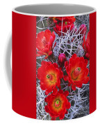Claretcup Cactus In Bloom Wildflowers Coffee Mug