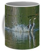 Clarks Grebes Dancing Coffee Mug