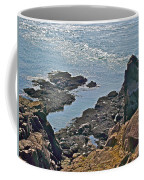 Clashing Tides At Tip Of Cape D'or-ns Coffee Mug