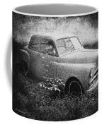 Clasic Car - Pen And Ink Effect Coffee Mug