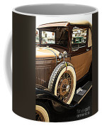 Classic 1928 Ford Model A Sport Coupe Convertible Automobile Car Coffee Mug