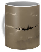 Classic B-29 Bomber Aircraft In Flight Coffee Mug