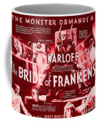 Classic Bride Of Frankenstein Poster Coffee Mug