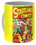 Classic Comic Book Cover - Startling Comics The Fighting Yank - 1236 Coffee Mug by Wingsdomain Art and Photography