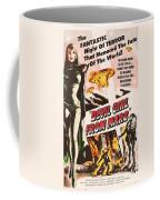 Classic Devil Girl From Mars Poster Coffee Mug