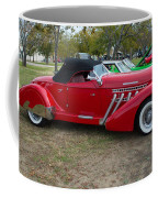 Auburn 1936 Roadster Classic Elegance Coffee Mug