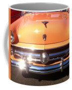 Classic Ford Car Hood Peach Coffee Mug