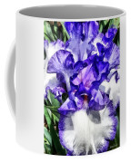 Classic Look Iris Closeup Coffee Mug