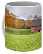 Classic New England Fall Farm Scene Coffee Mug
