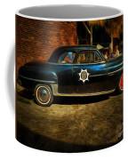 Classic Police Car Coffee Mug