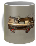 Classic Ranch Wagon Pedal Car Coffee Mug by Michelle Calkins