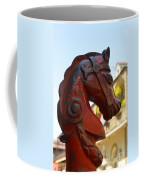 Classic Red Horsehead Post Coffee Mug