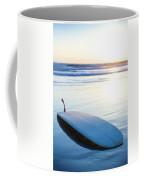 Classic Single-fin Long Board Surfboard Coffee Mug