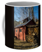 Classic Vermont Maple Sugar Shack Coffee Mug