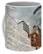 Classical Graffiti Coffee Mug by Kristin Elmquist
