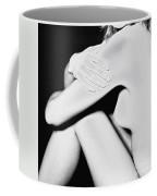 Classical Solarized Nude Female Body Coffee Mug