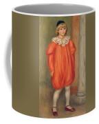 Claude Renoir In A Clown Costume Coffee Mug
