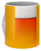 Clean Beer Background Coffee Mug by Johan Swanepoel