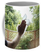 Cleaning A Window Coffee Mug