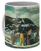 Cleaning Fish Coffee Mug