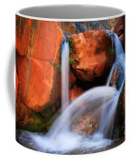 Clear Creek Falls Coffee Mug by Inge Johnsson