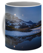 Clear Water Rainier Reflection Coffee Mug